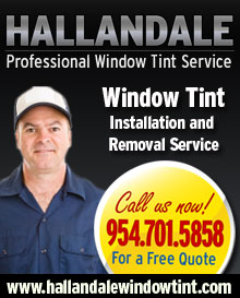 Window Tint Installation Service in Miami